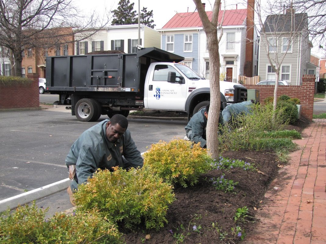 Commercial landscaping management company j j for Complete garden services