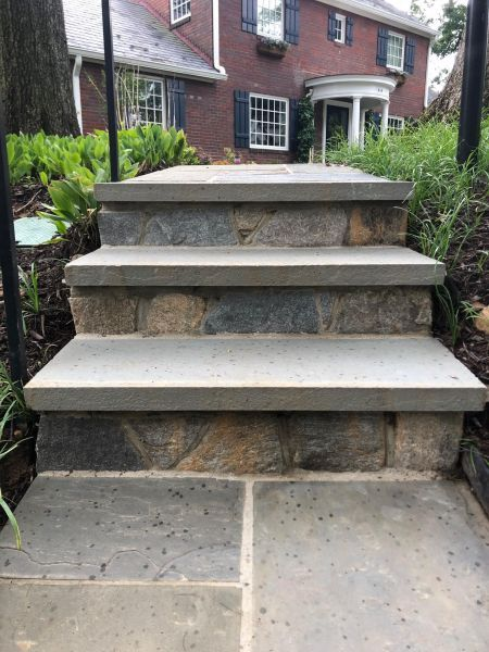 Outdoor Steps, Stairs & Pathways | J&J Landscape ...