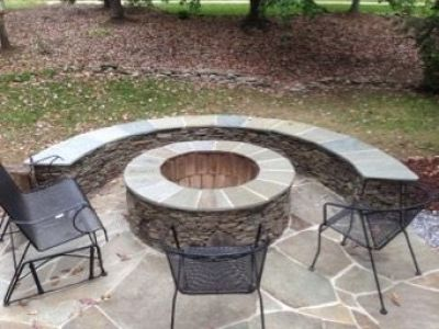 Outdoor Fire Pit Design Amp Installation J Amp J Landscape