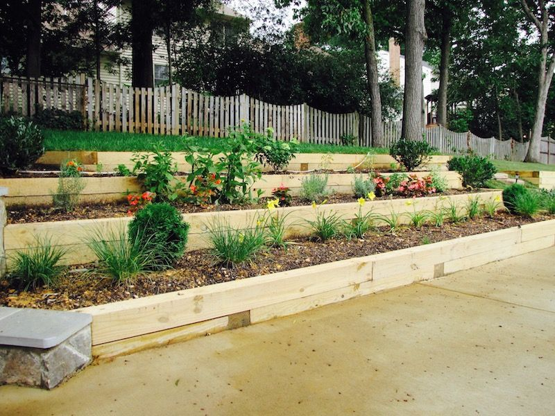 Outdoor Retaining Wall Design & Installation | J&J Landscape ...